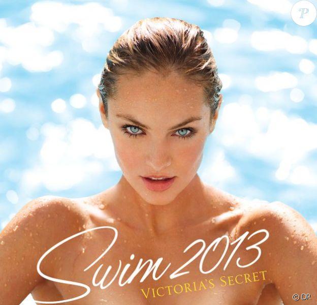 Candice Swanepoel en couverture du catalogue Swim 2013 de Victoria's Secret.