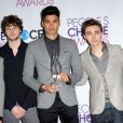The Wanted aux 39e People's Choice Awards au Dolby Theatre à Los Angeles, le 9 janvier 2013.
