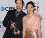 Les stars de Beauty and the Beast, Kristin Kreuk et Jay Ryan, aux 39e People's Choice Awards au Dolby Theatre à Los Angeles, le 9 janvier 2013.
