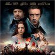 Affiche officielle du film Les Misérables.