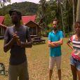 Namadia, Javier et Marylou dans Koh Lanta Malaisie le vendredi 11 janvier 2013 sur TF1