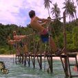 Epreuve de confort dans Koh Lanta Malaisie le vendredi 11 janvier 2013 sur TF1