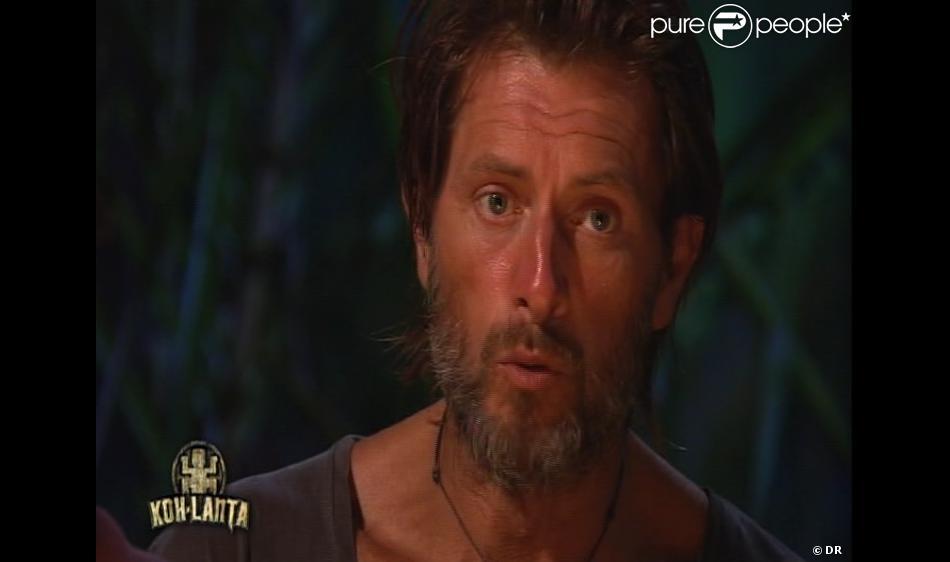 Thierry est éliminé dans Koh Lanta Malaisie le vendredi 11 janvier 2013 sur TF1