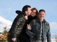 Michaël Youn et sa chérie Isabelle Funaro : Fous d'amour dans la neige