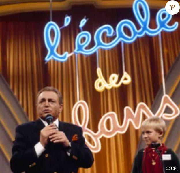 Jacques Martin dans L'École des fans, qu'il présenta de 1977 à 1998.