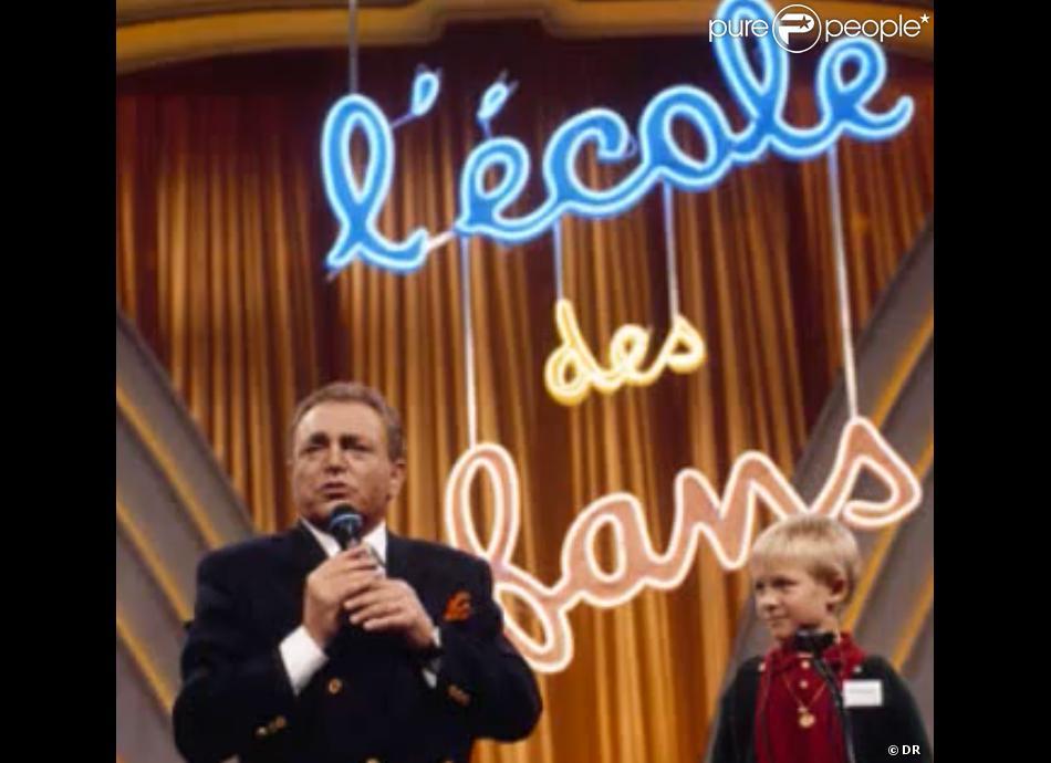 Jacques Martin dans  L'École des fans , qu'il présenta de 1977 à 1998.
