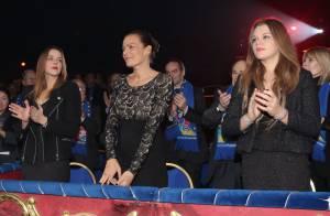 Pauline et Camille, les filles de Stéphanie de Monaco, font leur 'cirque'