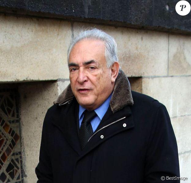 Dominique Strauss-Kahn le 4 décembre 2012 à Paris