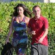 Frankie Muniz et sa fiancée Elycia Turnbow se promènent à Hawaï, le 24 janvier 2013.