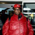 Big Ali arrive à l'aéroport de Nice, avant de filer vers Cannes pour les NRJ Music Awards, le 25 janvier 2013.