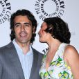 Dario Franchitti et Ashley Judd lors de la première de Missing à Los Angeles, le 10 avril 2012.