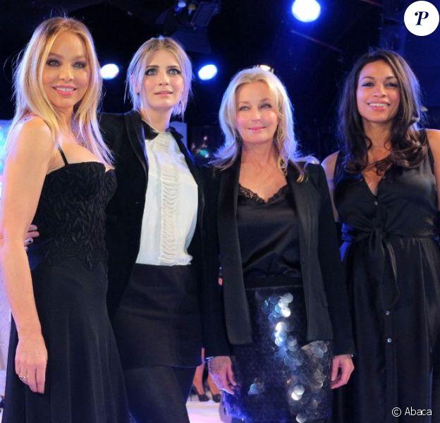 Ornella Muti, Mischa Barton, Bo Derek et Rosario Dawson assistent à la Lambertz Monday Night 2013 à Cologne. Le 28 janvier 2013.