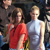 Jessica Stroup jalouse du look d'AnnaLynne McCord sur le tournage de 90210