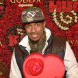 Nick Cannon au lancement du concours Share Love pour la Saint Valentin, chez Godiva, au Rockefeller Center à New York City, le 31 janvier 2013.