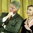 Le président Bill Clinton et la Première Dame Hillary Clinton à la Maison Blanche, le 18 mai 1994.