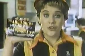 Meg Ryan à 21 ans et bien avant la chirurgie : Sa pub pour Burger King