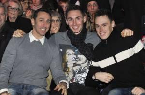 Daniel Ducruet : Entouré de ses fils Louis et Michael pour sa fille Pauline