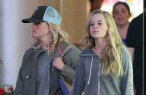 Reese Witherspoon et sa fille Ava : Même look, même visage, elles se copient