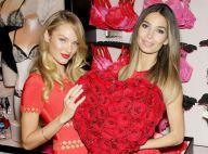 Candice Swanepoel et Lily Aldridge : Deux Anges fin prêts pour la Saint-Valentin