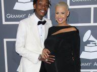 Amber Rose et Wiz Khalifa : De futurs parents glamour et amoureux aux Grammys