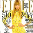 """""""Taylor Swift fait la couverture du ELLE américain, dans l'édition du mois de mars 2013, en kiosques le 19 février 2013."""""""