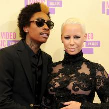 Amber Rose et Wiz Khalifa en septembre 2012 à Los Angeles.