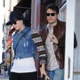 Katy Perry et John Mayer le 16 octobre 2012 à New York.