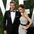 David Beckham et Victoria Beckham le 26 février 2012 à Los Angeles.