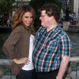 Maria Menounos en compagnie de Jesse Heiman à Los Angeles le 14 février 2013.