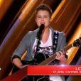 Loïs dans The Voice 2, le samedi 16 février 2013 sur TF1