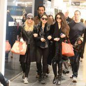 Vanessa Hudgens, Selena Gomez: Shopping et retrouvailles complices à Paris