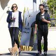 Giovanni Ribisi et sa femme Agyness Deyn se rendent au Starbucks à Santa Barbara, le 17 février 2013.