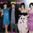 "Harmony Korine et ses actrices à l' Avant premiere de ""Spring Breakers"" au Grand Rex a Paris le 18 fevrier 2013 Premiere of the movie ""Spring Breakers"" in Paris at Grand Rex on 18/02/201318/02/2013 - Paris"