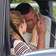 Hayden Panettiere et son ex-chéri Wladimir Klitschko, en sortie amoureuse à Miami, le 19 février 2013.