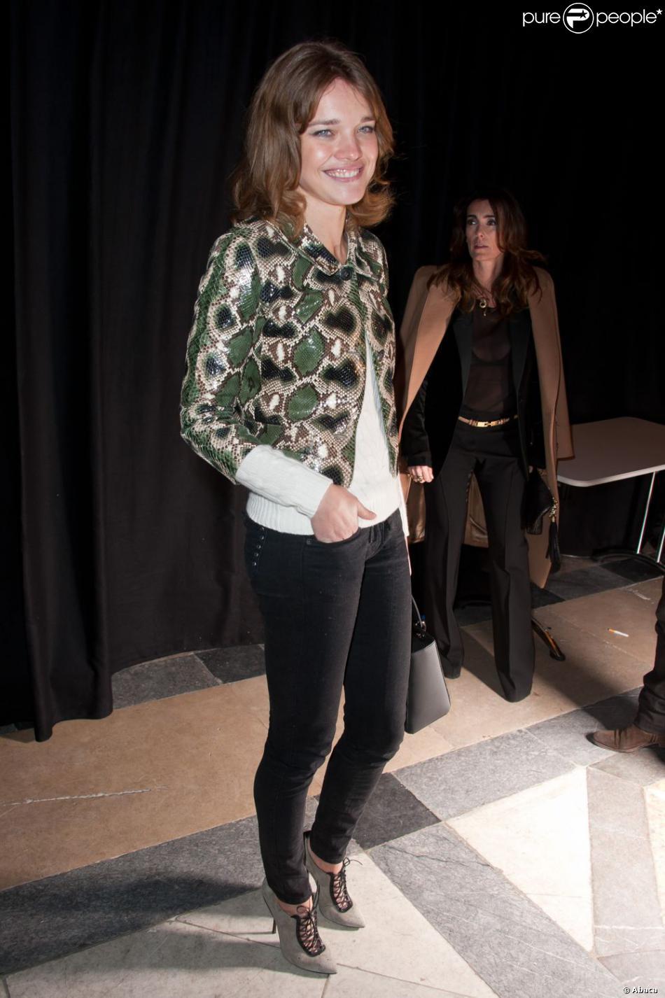 Natalia Vodianova au Défilé Etam 2012