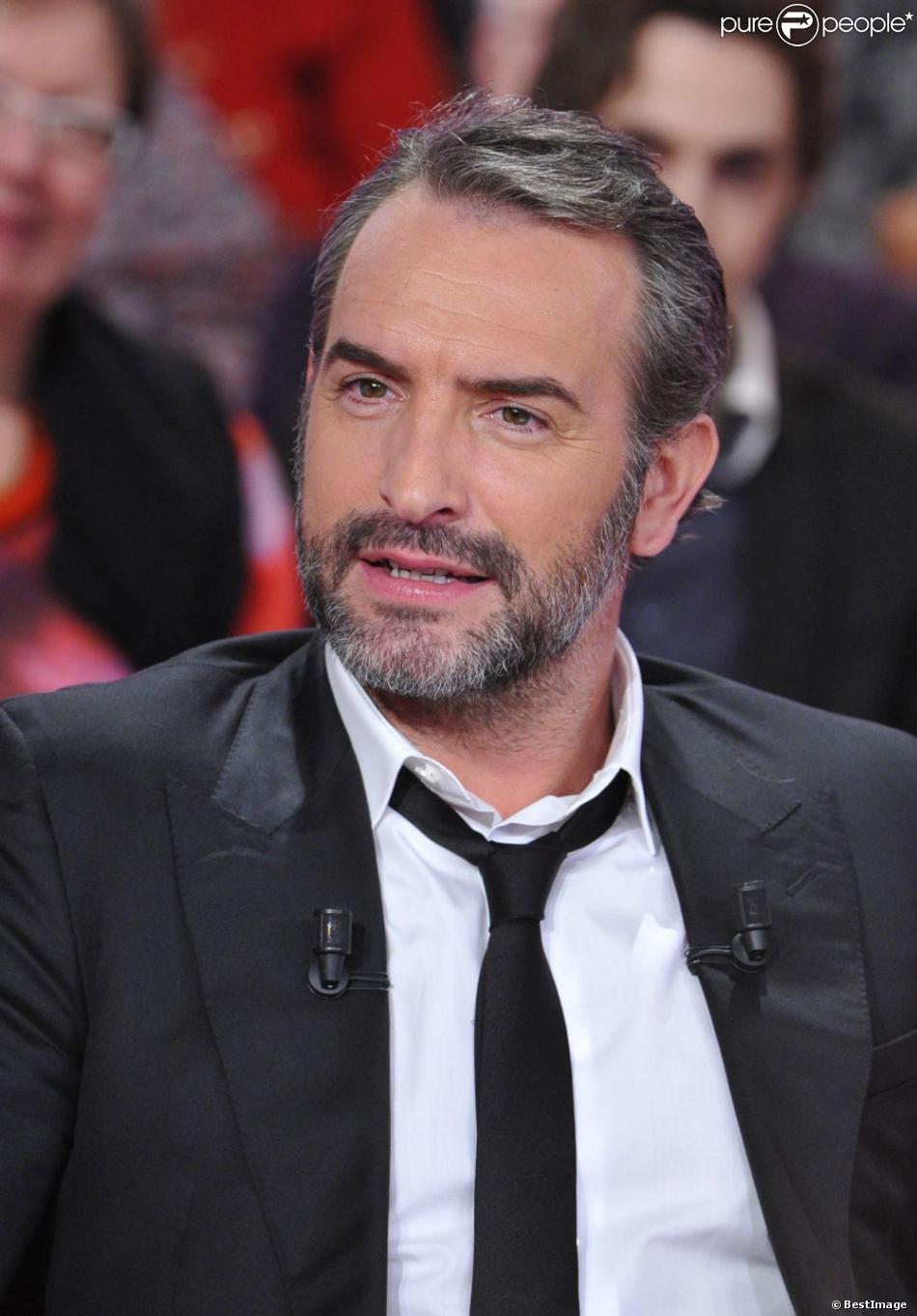 Jean dujardin tr s s rieux pendant le tournage de l for Dujardin ou adjani