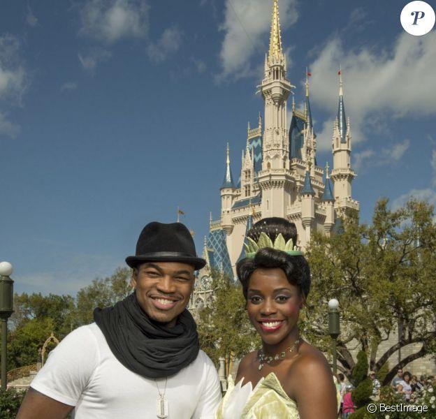 Ne-Yo à Disney World Miami le 19 février 2013.