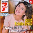 Le magazine Télé 7 jours, en kiosque le 28 février 2013, annonce la grossesse de Christelle Reboul.
