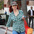 Juliette Lewis en shopping chez Whole Food dans West Hollywood le 21 février 2013.