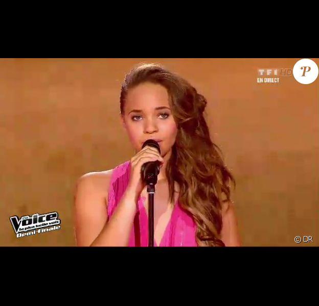 Rubby dans The Voice, samedi 5 avril 2012 sur TF1