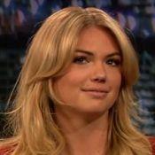 Kate Upton : Son décolleté généreux met un animateur télé dans l'embarras