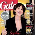 Sophie Marceau en couverture du magazine Gala du 27 février 2013
