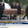 Les obsèques de Mindy McCready se sont tenues à Fort Myers (Floride) le 26 février 2013.