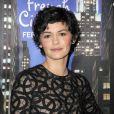 Audrey Tautou glamour et représente du cinéma français pour la première du film Populaire à New York, le 28 février 2013.
