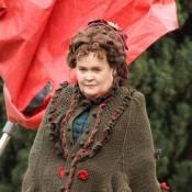 Susan Boyle : Premiers pas costumés au cinéma avec la Misérable Samantha Barks