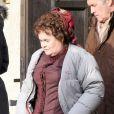 Exclusif - La chanteuse Susan Boyle fait ses débuts au cinéma dans le film The Christmas Candle le 28 février 2013.