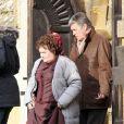 Exclusif - Susan Boyle fait ses débuts au cinéma dans le film The Christmas Candle le 28 février 2013.