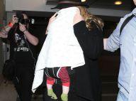 Adele, son compagnon et leur fils : Départ discret de la Cité des anges
