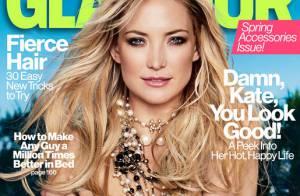 Kate Hudson : Maman protectrice et topless en couverture de Glamour