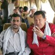 Hugo Chavez et Mahmoud Ahmadinejad le 2 juillet 2007 au Venezuela